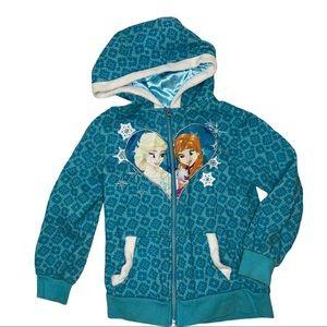 Olaf's Frozen Adventure 6x Zip up hoodie jacket